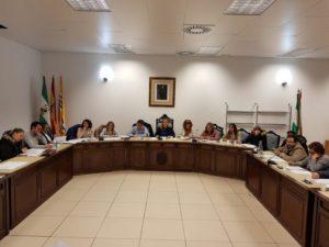 Celebrado el pleno de Noviembre en Isla Cristina