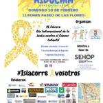 I Carrera Aidocma por La investigacion del Cáncer Infantil en Isla Cristina