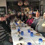 Desayuno informal entre el ayuntamiento de Isla Cristina y la prensa