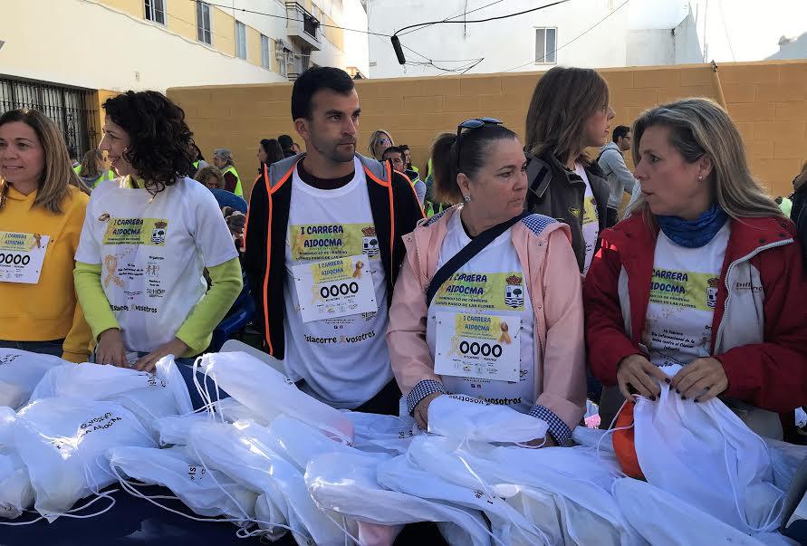 Más de 1.200 isleños participan en la carrera Aidocma contra el Cáncer Infantil