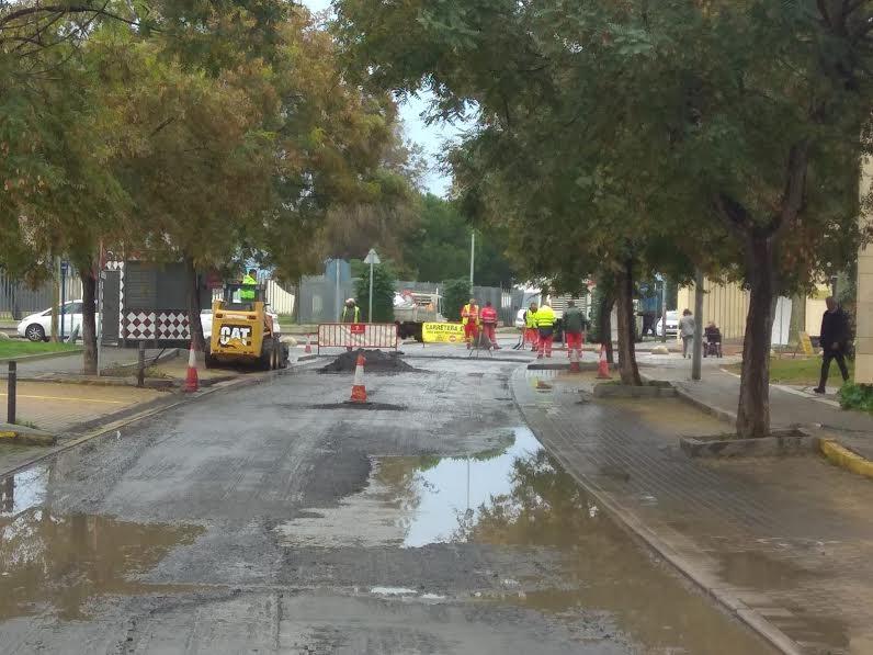El Ayuntamiento continúa con el asfaltado de las calles