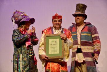 José Manuel Escobar Martín pregonero del Carnaval de Isla Cristina en el Carnaval de Isla Cristina 2019