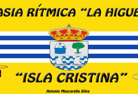 El proximo 23 de Febrero el Club de Gimnasia Rítmica la higuerita compite en San Bartolomé de la Torre en