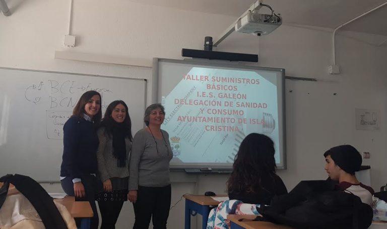 Puesta en marcha los Talleres de Consumo para escolares en Isla Cristina