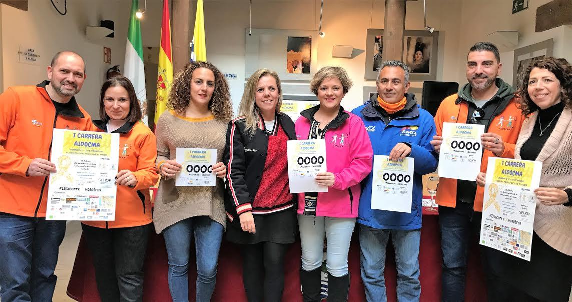 Isla Cristina se echará a la calle para correr en favor de la lucha contra el Cáncer Infantil