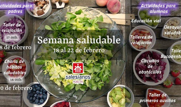 El colegio Salesianos de Huelva arranca su semana más saludable
