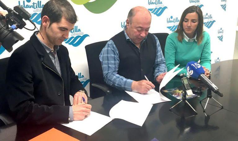 La Mancomunidad de Islantilla firma convenio con el Conservatorio de Isla Cristina