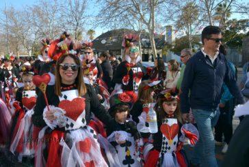 Cabalgata de las escuelas y guarderías infantiles del Carnaval de Isla Cristina 2019