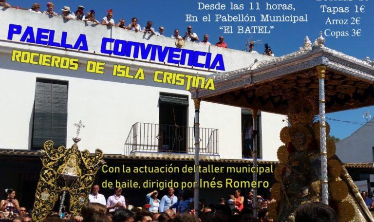 Paella de convivencia de la Hermandad de Nuestra Señora del Rocío de Isla Cristina