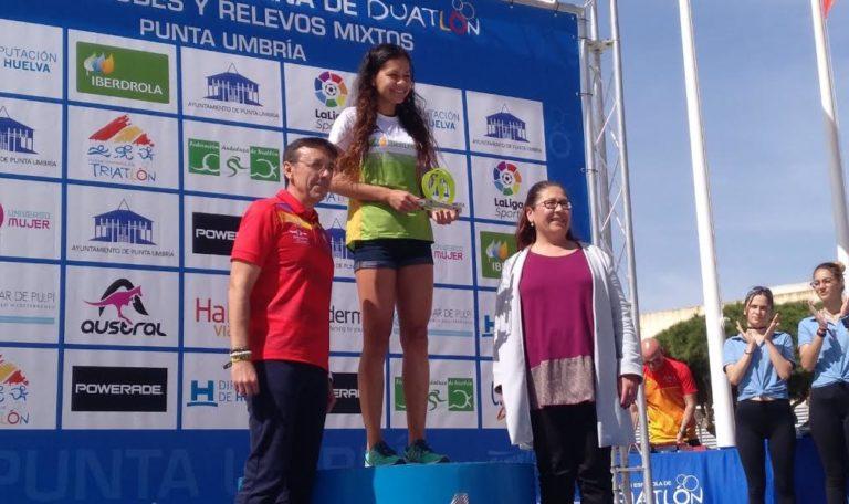 Marlins Triatlón Madrid campeones de España de Duatlón por Relevos Mixtos 2019 en Punta Umbría