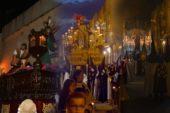 Salida Procesional del Cristo Atado a la Columna de la Semana Santa de Isla Cristina 2019