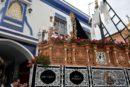 Procesión de la Hermandad de la Soledad de la Semana Santa de Isla Cristina