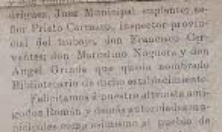 Documento del Mes de Abril de 2019 de la Delegación Municipal de Patrimonio, Archivo y Biblioteca de Isla Cristina