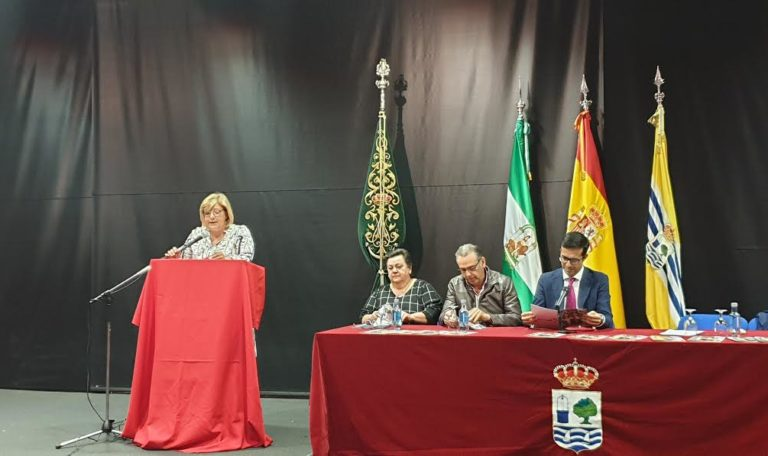 La Hermandad del Rocío presenta el Boletín, Cartel y Pregonera 2019, Pepa Sosa