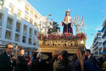 Procesión del Cristo de la humildad de la Semana Santa de Isla Cristina 2019