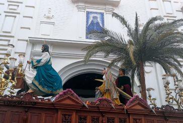 Procesión de la Hermandad de La Mulita