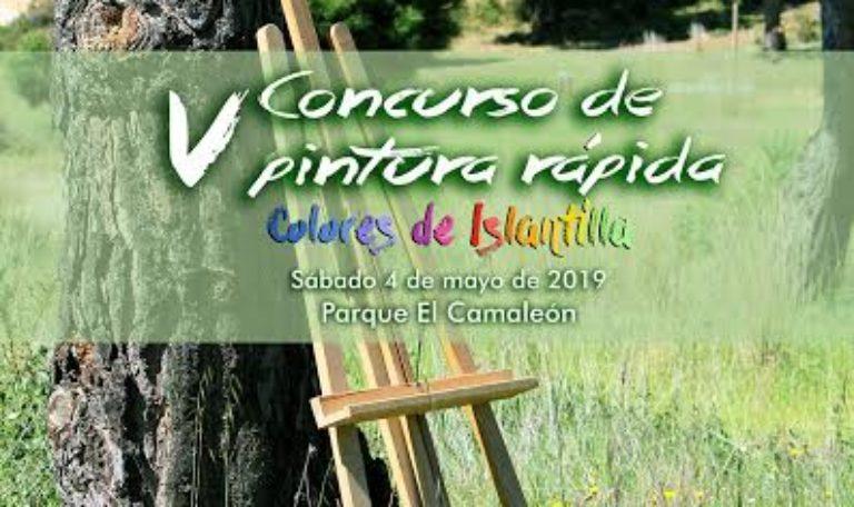 Convocatoria de Prensa - El Parque 'El Camaleón' acoge mañana el V Concurso de Pintura Rápida 'Colores de Islantilla'