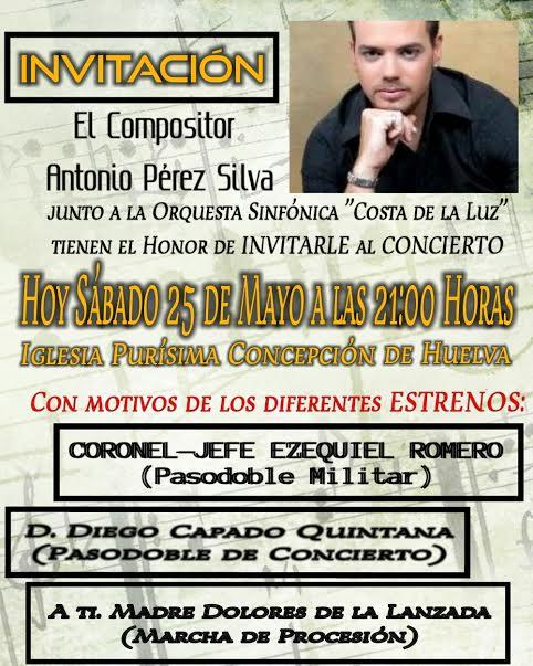 Hoy concierto de la orquesta sinfónica