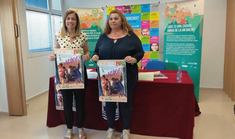 Isla Cristina presenta el programa 'Vacaciones por la paz' para la acogida de niños saharauis durante el verano