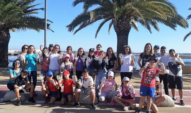 El Consejo de Infancia organizó una jornada de limpieza medioambiental