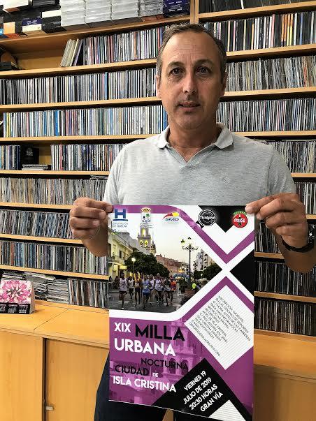 Este viernes se celebra la Milla Urbana Nocturna de Isla Cristina