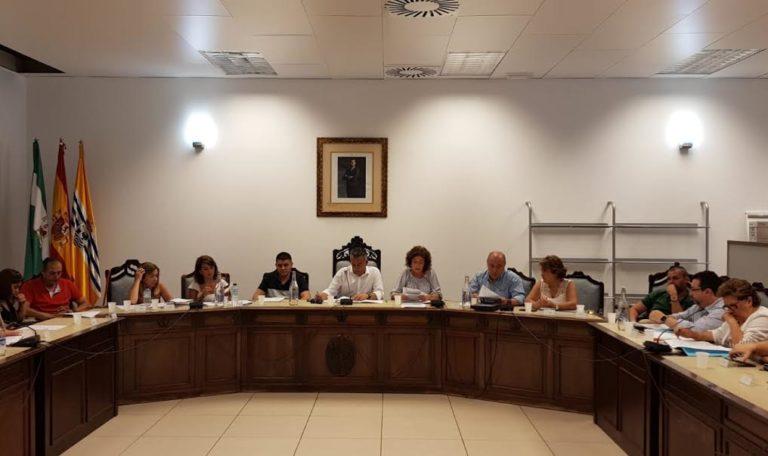 Celebrado el Pleno Orgánico del Ayuntamiento de Isla Cristina