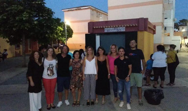 El Cine llega a la Barriada del Rocío de Isla Cristina de la mano del proyecto ERACIS y del Festival de Islantilla